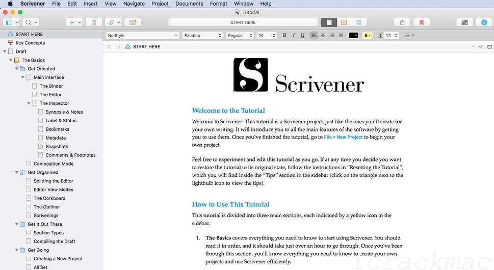 Scrivener 3.2.2 Crack MAC Full Keygen 100% Working For Lifetime