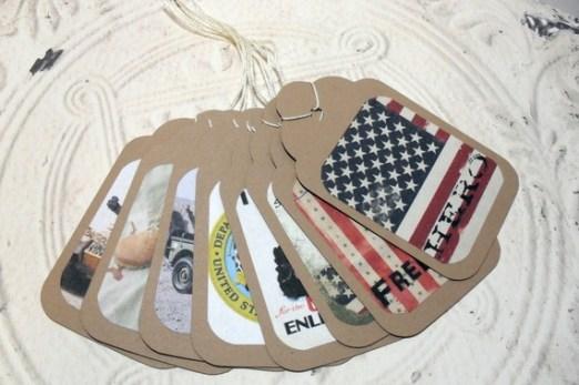 Custom Army Tags