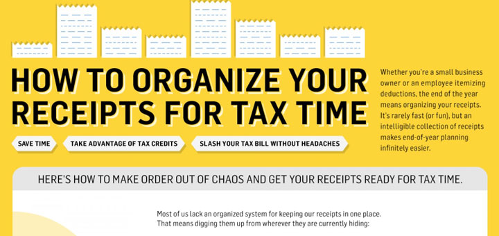 8 ways to organize receipts for tax time icraftopia reheart Images