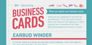 5-Upcycled-Business-Cards-Craft-Projects