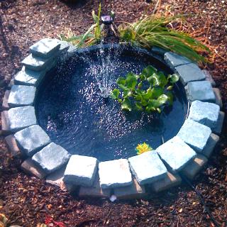 Brick Fountain