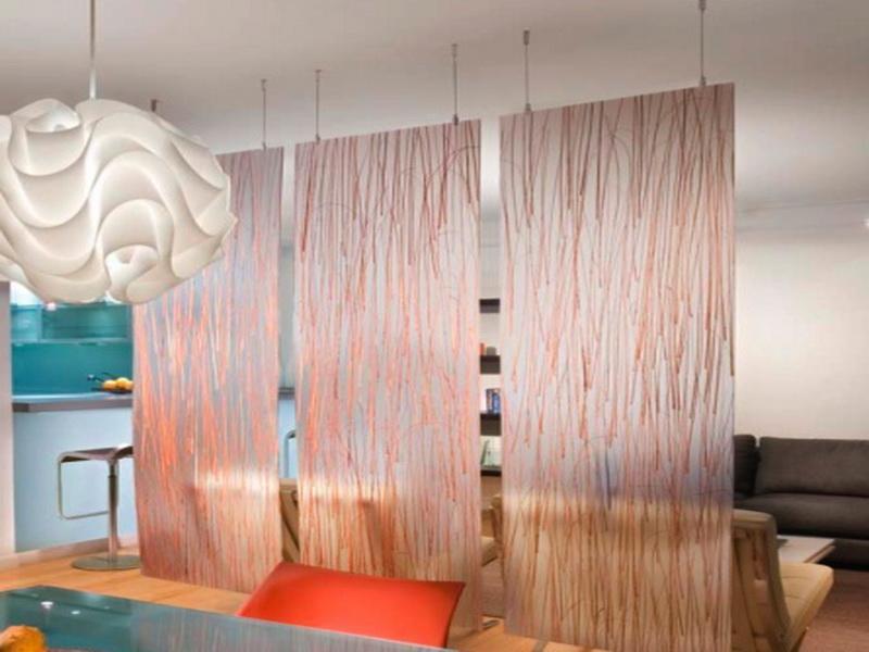 Hanging Panels Room Divider