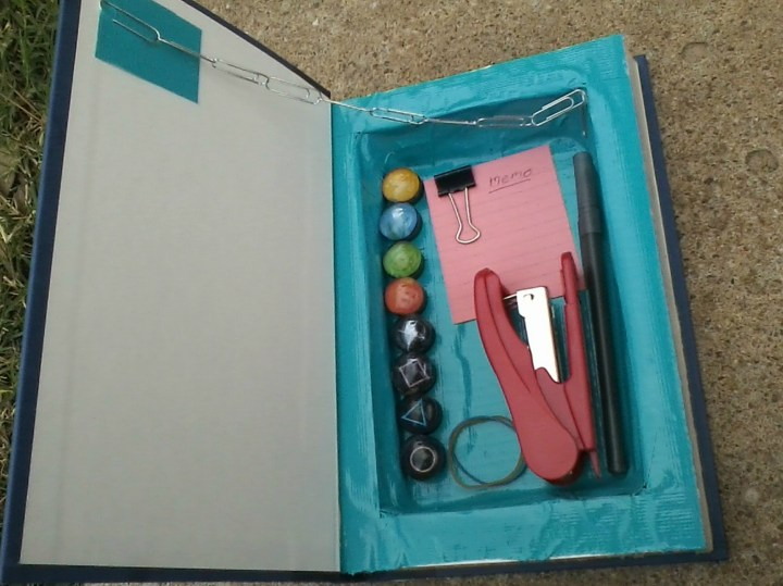 Duct Tape Pencil Box Book Storage