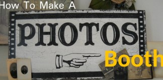 How to Make a Photo Booth