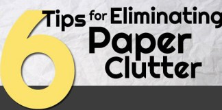 6 Ways to Get Rid of Paper Clutter