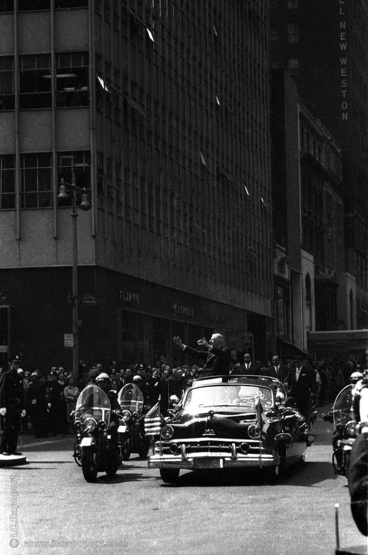 DeGaulle NY 1960