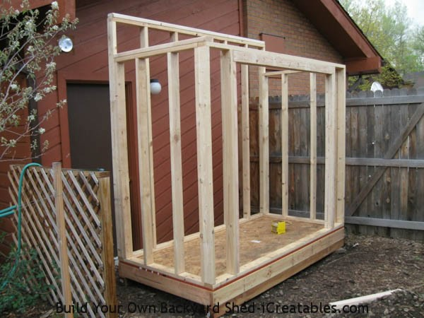Easiest Way Build Shed