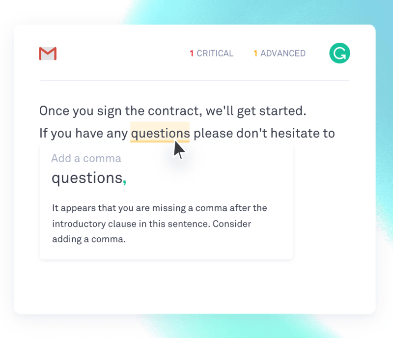 using grammarly for emails
