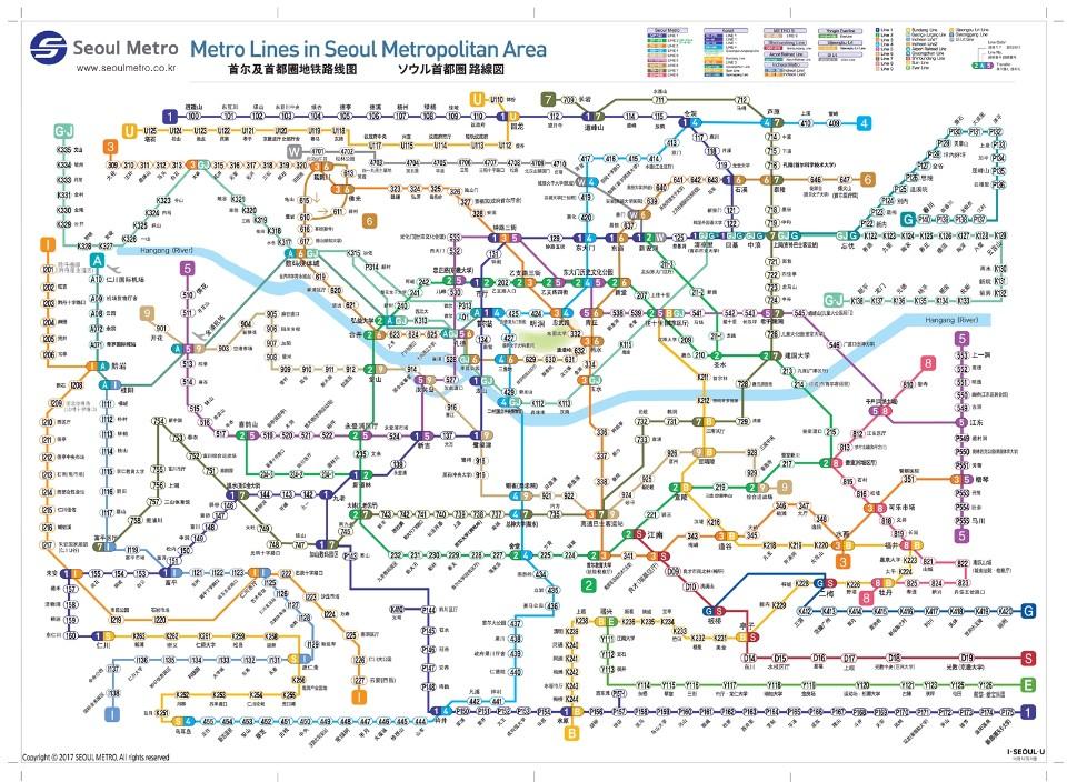 搭乘韓國地鐵你該知道的7件事!-2分之1遊樂人生-欣傳媒旅遊頻道