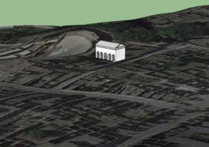 3D CAD model of Ecclesiasterion, Pompeii