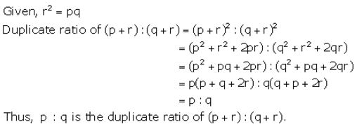 Selina Concise Mathematics Class 10 ICSE Solutions Ratio and Proportion (Including Properties and Uses) - 38
