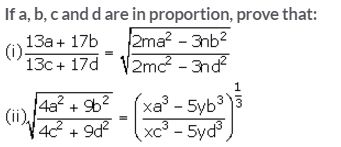 Selina Concise Mathematics Class 10 ICSE Solutions Ratio and Proportion (Including Properties and Uses) - 70