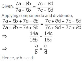 Selina Concise Mathematics Class 10 ICSE Solutions Ratio and Proportion (Including Properties and Uses) - 80