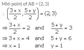 Selina Concise Mathematics Class 10 ICSE Solutions Section and Mid-Point Formula - 34