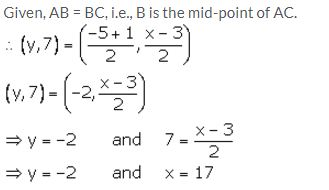 Selina Concise Mathematics Class 10 ICSE Solutions Section and Mid-Point Formula - 53
