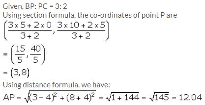 Selina Concise Mathematics Class 10 ICSE Solutions Section and Mid-Point Formula - 59