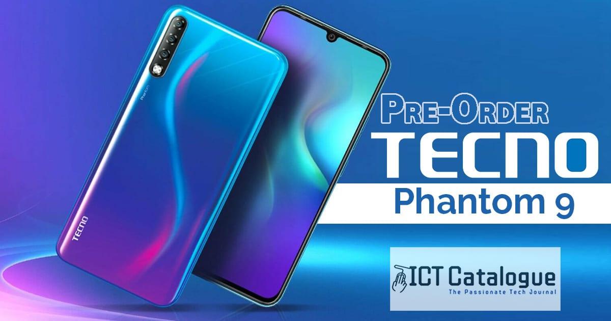 Get GHS 599 Worth of freebies For The Phantom 9 Pre-Order From Tecno Ghana