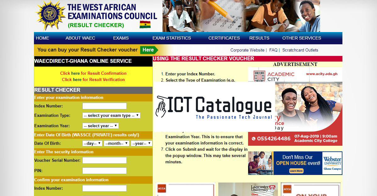 How To Buy WAEC Results Card, BECE Result Checker And WASSCE Results Online