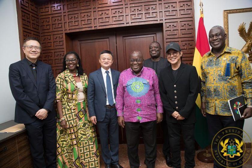 Jack Ma: Founder Of Alibaba In Ghana to donate to the Youth Entrepreneurship program