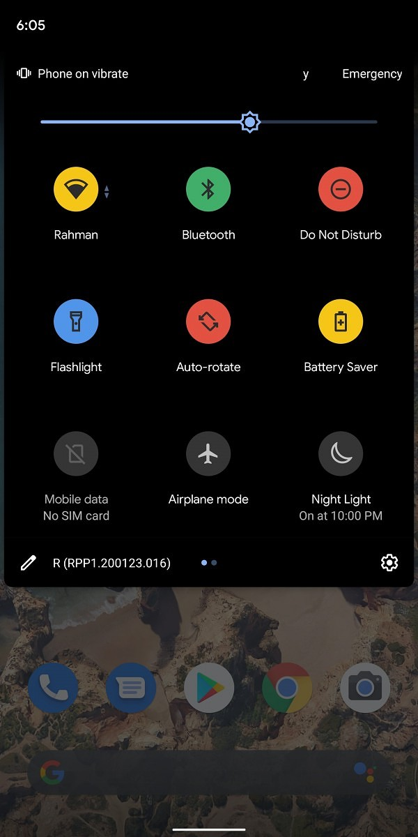 Google Is Testing Multi-coloured Quick Settings Icons In Android 11.