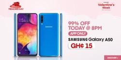 Samsung Galaxy A50 for GH¢15 With Jumia Valentine's Week Treasure