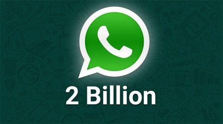 WhatsApp Now Has More Than 2 Billion Users Worldwide