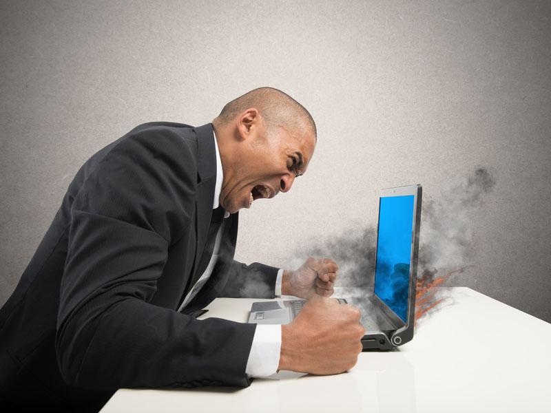Man Murders His Office Computer