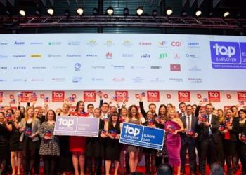 Huawei Recognised As European Regional Certified Top Employer 2020