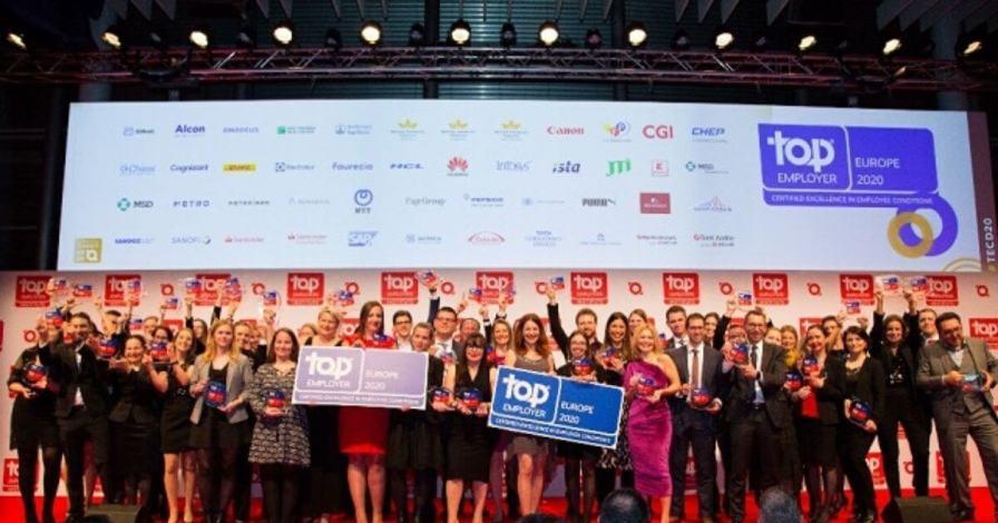Huawei Recognised As European Regional Certified Top Employer 2020