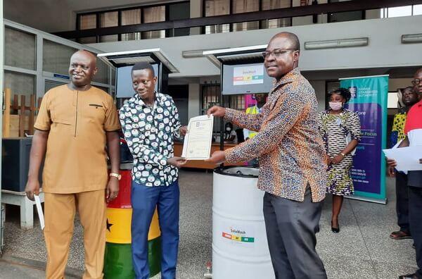 GSA Certifies Solar Automated Hand Washing Machine