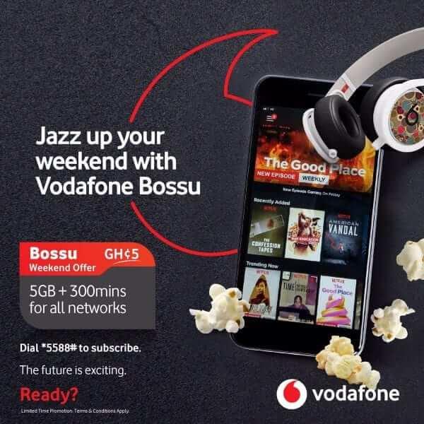 How To Buy Vodafone BOSSU Weekend Data Bundle