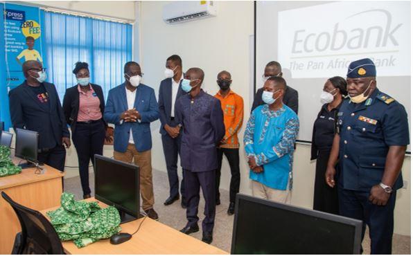 Ecobank Ghana Gives Away A Computer Lab To Christian Methodist Senior High School