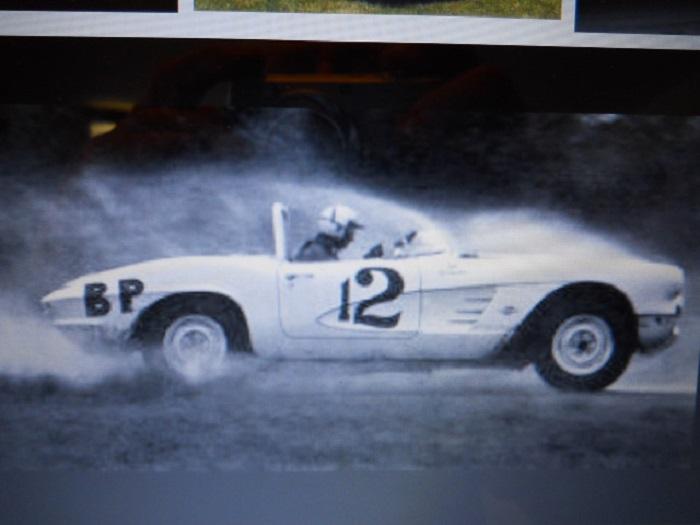 1962 Chevrolet Corvette race car