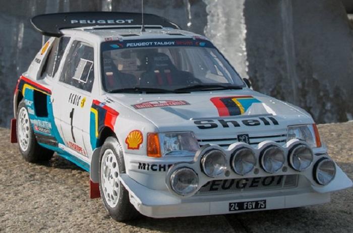 Peugeot 206 turbo 16 evo