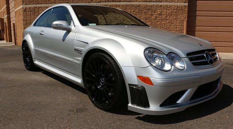 19 bin km'de Mercedes CLK63 AMG Black Series
