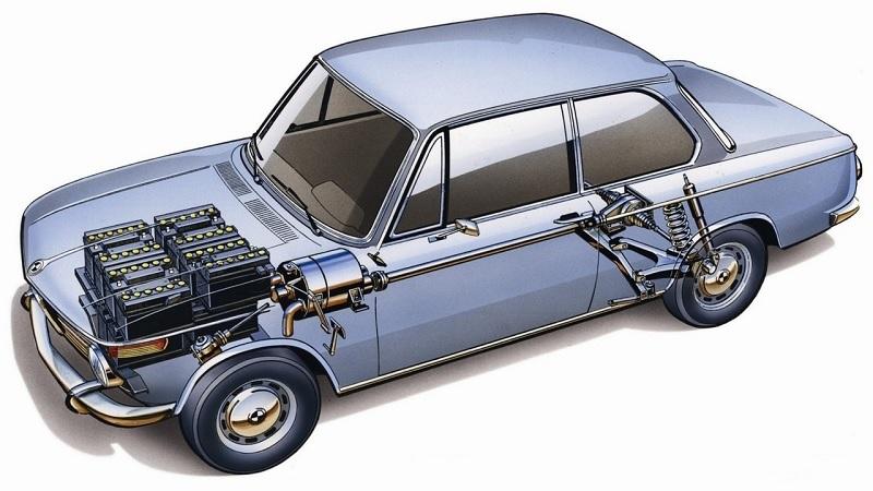BMW'nin ilk elektrikli modeli: 1602 Electro