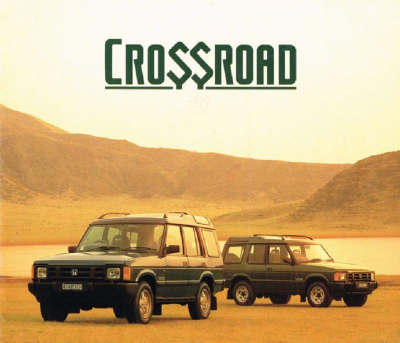 Land Rover Discovery değil Honda Crossroad