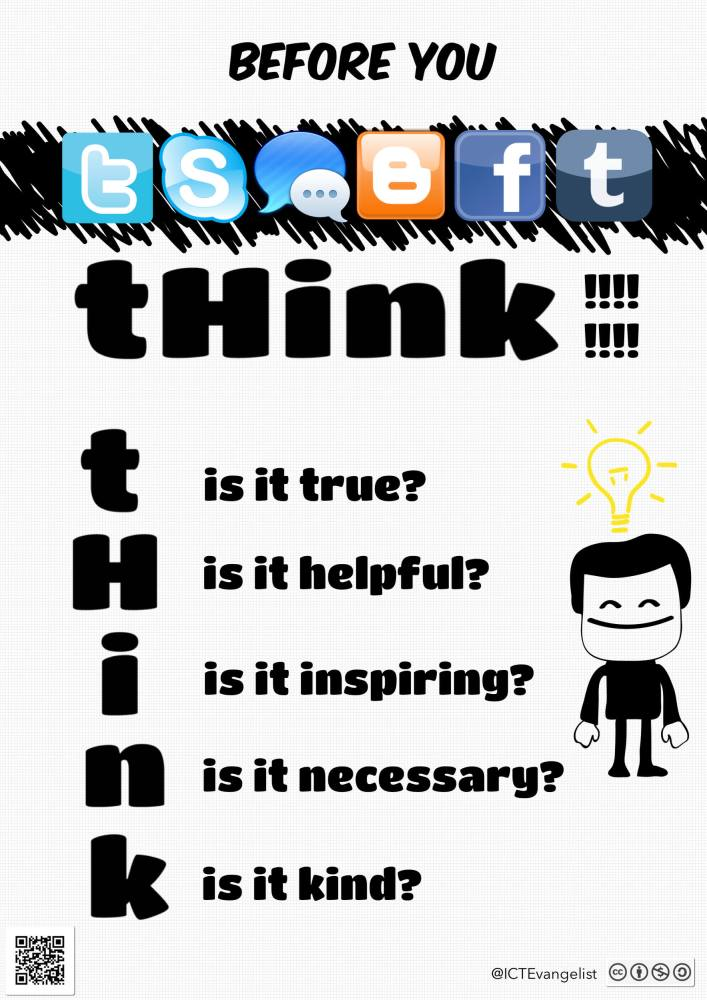 Digital Citizenship & a poster for your school