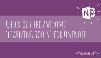 Check out the awesome 'learning tools' for OneNote