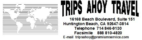 Trips Ahoy, California, USA