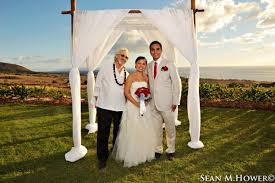 Distinctive weddings: Joseph Narrowe, Puunene, HI, USA