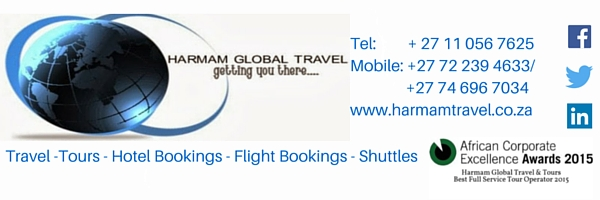 Harman Global Travel & Tours, Johannesburg, South Africa