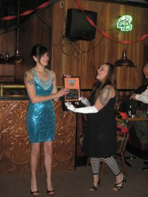 11-2008 FIRST awards banquet - first tiniest panties award
