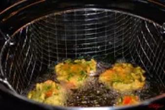 Mofo Anana (beignets de cresson) : Etape 2