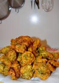 Mofo Anana (beignets de cresson) : Etape 3