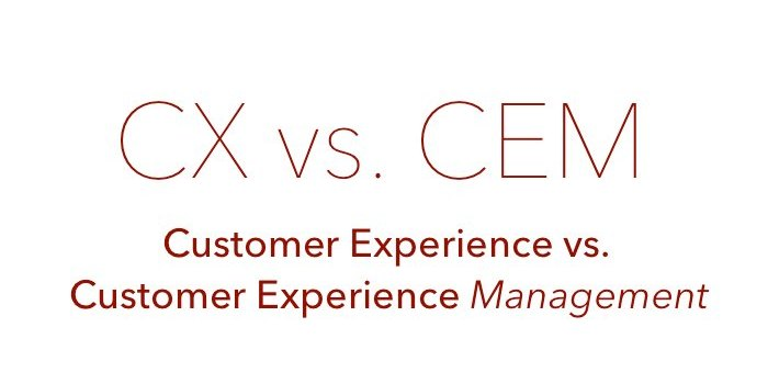 Customer Experience vs. Customer Experience Management – what's the difference and why its important?