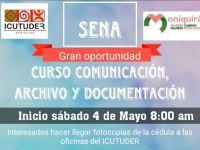 CURSO COMUNICACIÓN DE ARCHIVO Y DOCUMENTACIÓN