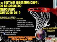 PRIMER FESTIVAL INTERMUNICIPAL DE BALONCESTO MASCULINO