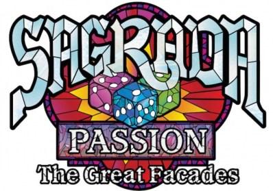 desain sampul ekspansi The Great Facades dari Sagrada