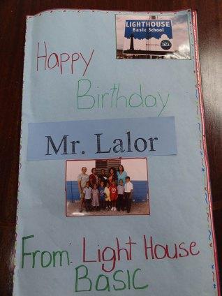 Happy Birthday Mr. Laylor